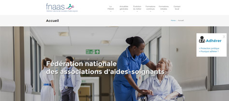 FNAAS - Fédération Nationale des Associations d'Aides-Soignantes